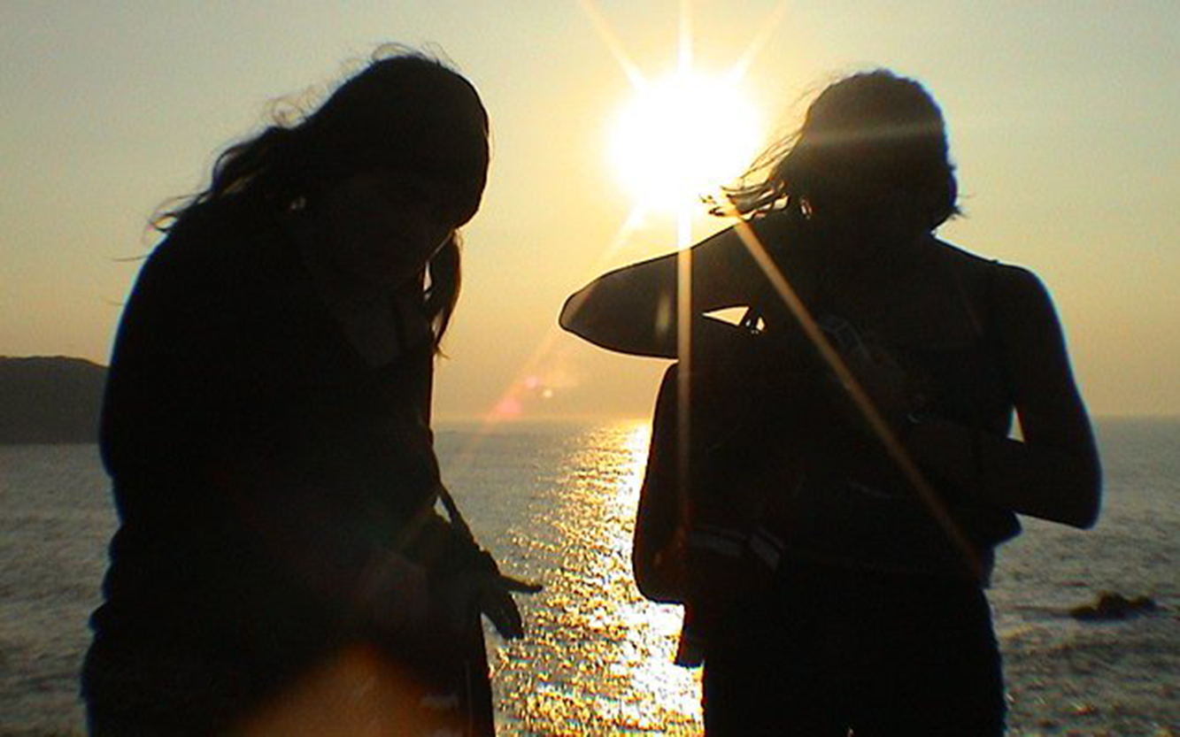 03. Grabación O Mar_Patri & Natalia