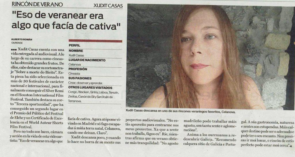 La Región de Ourense_Veranear